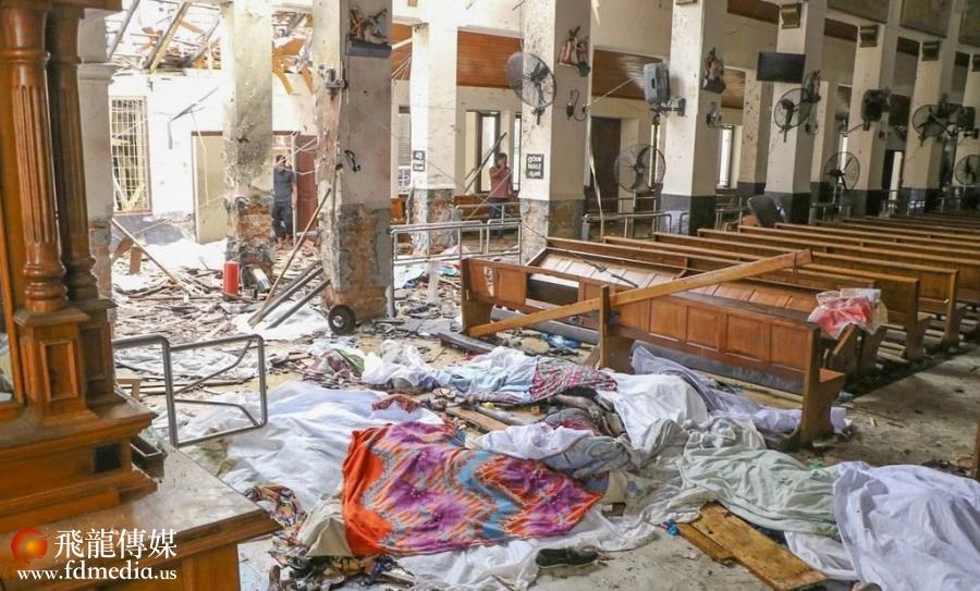 遭到袭击的教堂 IC Photo