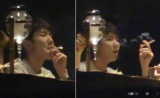 王源吸烟照曝光动作娴熟 控烟协会回应王源抽烟