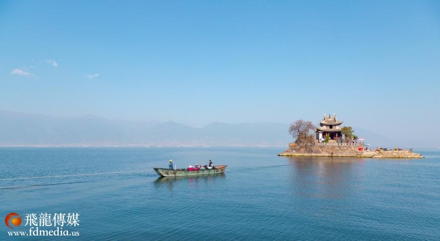 三月洱海好春光,少了商业气息,多了景色本味